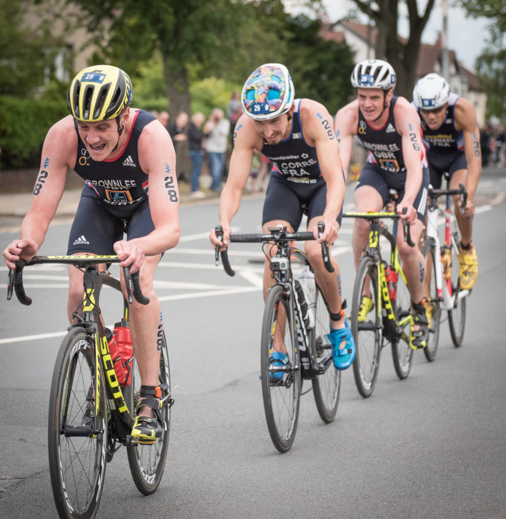 World Triathlon Leeds - Brownlee brothers